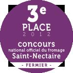 3e place concours national saint-nectaire fermier